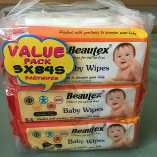 BEAUTEX wetwipes