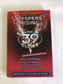 Vespers Rising(The 39 Clues)Book 11