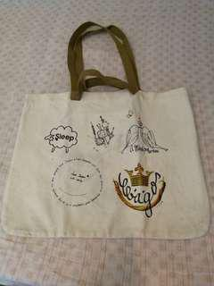 Canvas Tole Bag from Japan 日本製帆布袋