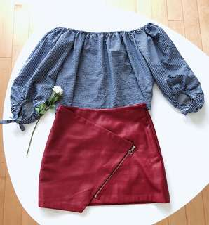 Zara outfit, both in XS