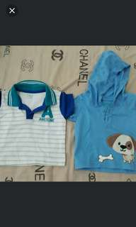 Bundle baby boy shirts