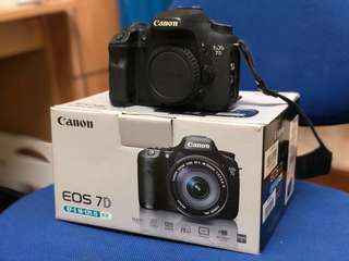 Canon EOS 7D Superb Condition