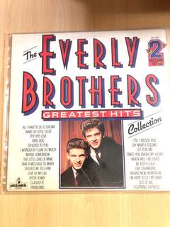 The Everly brothers vinyl