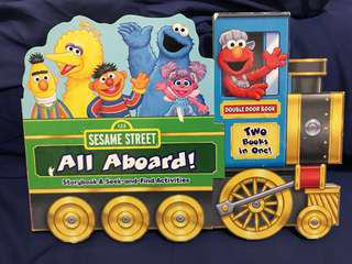 Sesame Street: All Aboard! : Storybook & Seek-And-Find Activities