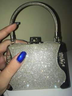 Small sparkly purse