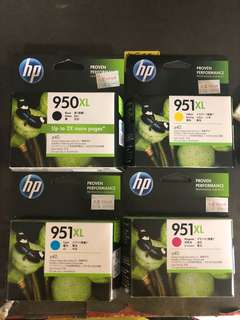 Complete Ink set (4 color) for HP Officejet Pro 8600 Plus
