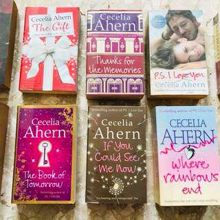 Cecelia Ahern books!