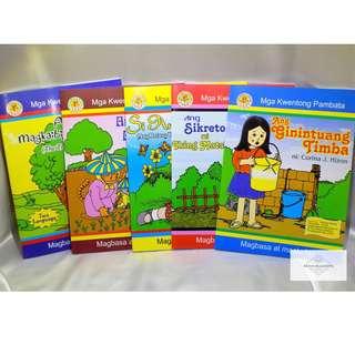 ✅ Assorted Children's Story Books 3 (Bilingual/Filipino)