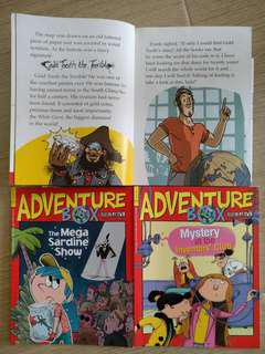Aventure Box (167-175, 186-215... total 47 issues)