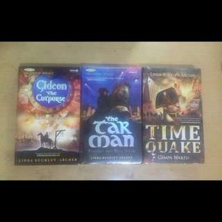 The Gideon Trilogy (Linda Buckley-Archer)