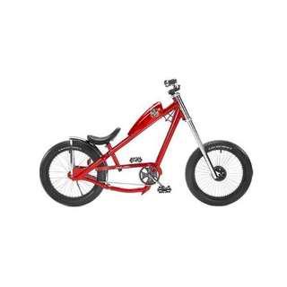 West Coast Choppers bike (red)