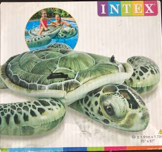 Intex Giant Turtle inflatable floater