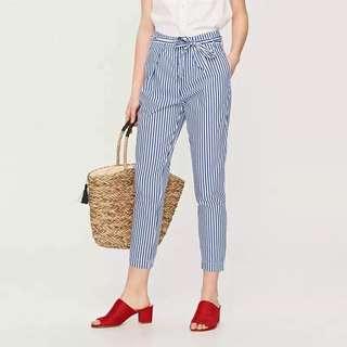 String Stripes Pants