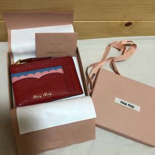 Miu Miu Card Holder Limited Edition