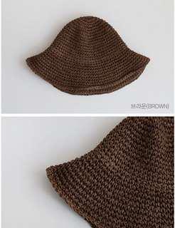 Korean Crochet Hat 韓國漁夫草帽