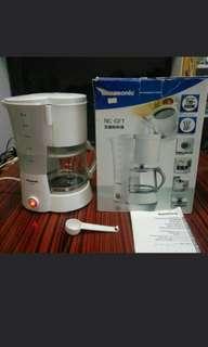 Panasonic 蒸溜咖啡机 (NC-GF1) 1.34L  Panasonic Filter Coffee Maker  (NC-GF1) 1.34L