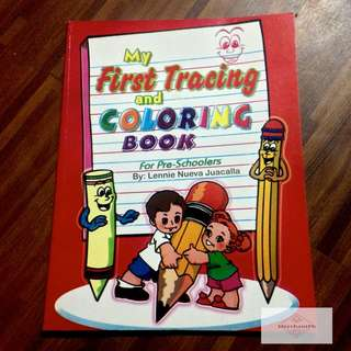 ✅ My First Tracing and Coloring Book For Pre-Schoolers