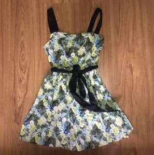 Just G Floral Dress