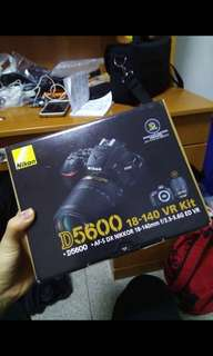 Nikon d5600 with 18-140mm vr lens and dry cabinet