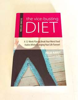 BN The Vice-Busting DIET by Julia Havey (Retail price US$19.95)