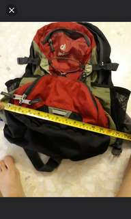 Deuter backpack many compartment (good condition)