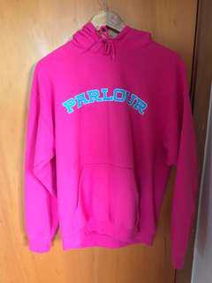 Parlour Pink/Blue Hoodie