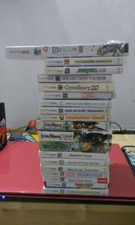 All kinds of 3ds games