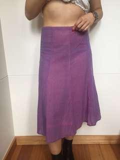 BNWT ishka purple skirt