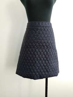 Country Road quilted skirt NEW