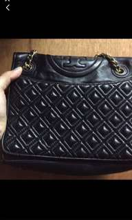Tory Burch 2way bag (mid size) Fleming