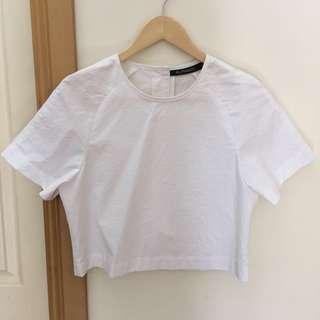 Alpha60 white cotton shirt