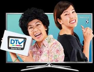 Digital TV setup box set / Watch Mediacorp channels from Analogue to Digital HD chs