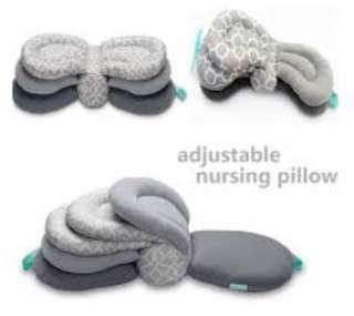 Adjustable nursing pillow