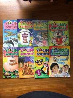 Young Scientists Level 3 Set of 8 (103-110)