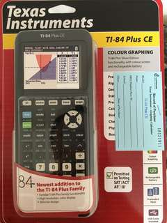 🚚 Graphing Calculator TI-84 Plus CE
