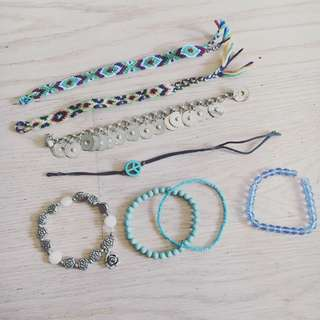 Festival Jewelry Bracelet Bundle