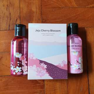 Innisfree Jeju Cherry Blossom Set
