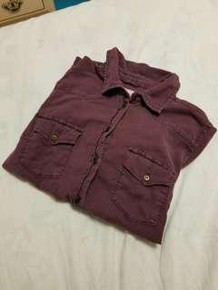 Garage Purple Shirt