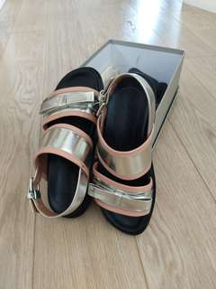 MARNI SHOES Silver sandals