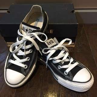 Converse All Star 經典款 黑色帆布鞋 all star 近全新
