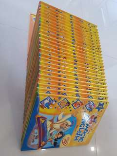 🚚 GROLIER - DISNEY ENGLISH MAGIC Book & DVD set