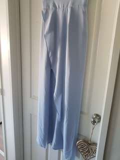 Pale blue keepsake dress size medium