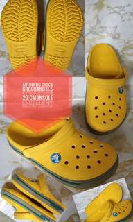 AUTHENTIC CROCS KID'S CROCBAND