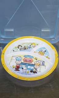 兒童食物分隔膠碟