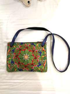Soft Colorful Sling Bag