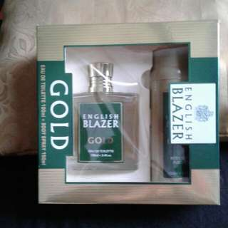 English Blazer Eau De Toilette and Body Spray