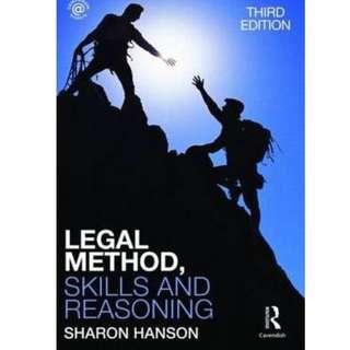 Law - Legal Method, Skills and Reasoning