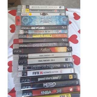 PlayStation 3 Games [Rental]