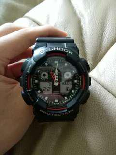 G-SHOCK Black and red