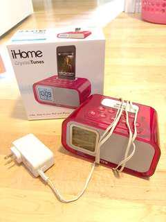 Apple Dual Alarm Clock and Speaker